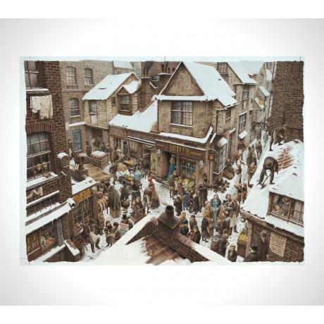 Stampa d'arte Roberto Innocenti - Christmas carol