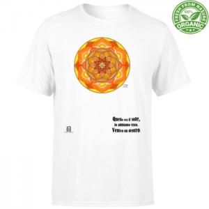 tshirt organic unisex bianco