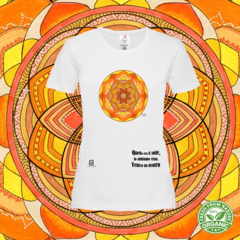 TERRA SU MONTE tshirt-mandaching organic donna