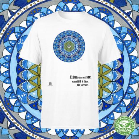 ACQUA SU LAGO tshirt-mandaching organic unisex