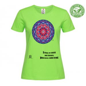 tshirt organic verde kiwi