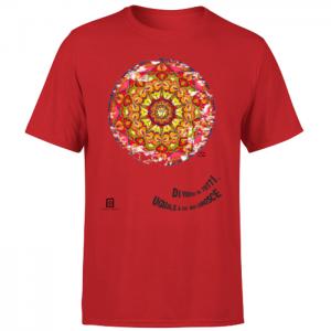 tshirt organic rosso